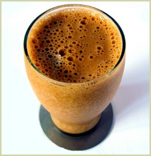 picture of pumpkin smoothie