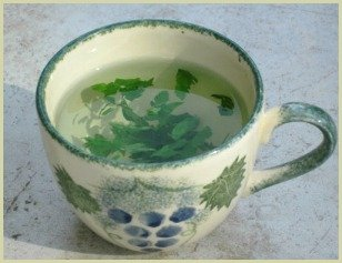 picture of parsley tea