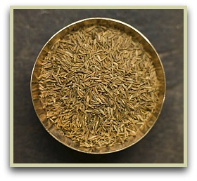 picture of cumin seeds