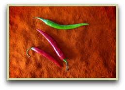 picture of hot hungarian paprika peppers