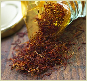 picture of saffron threads