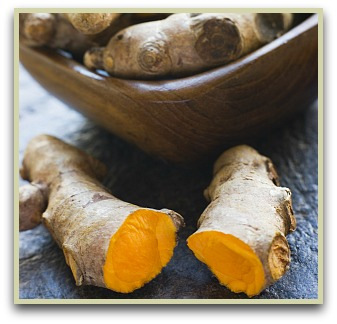 picture of turmeric root