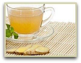 picture of ginger tea