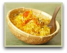 picture of saffron rice