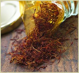 picture of saffron threads