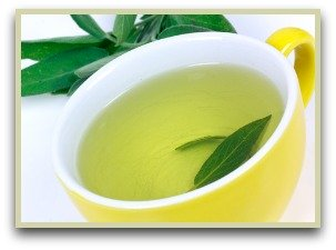Picture of sage tea